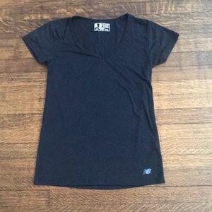 New Balance black t shirt- Size XS
